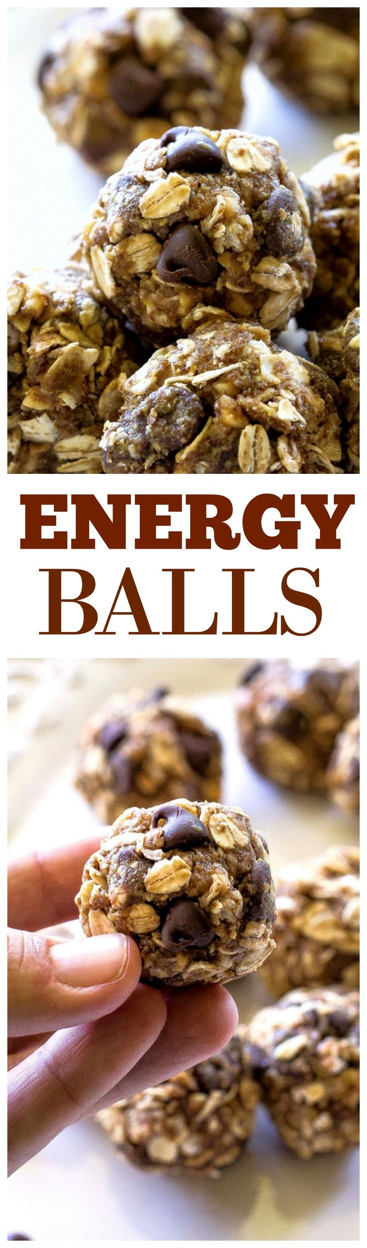 Energy Balls Filled With Oats, Honey, Flaxseed, and Peanut Butter