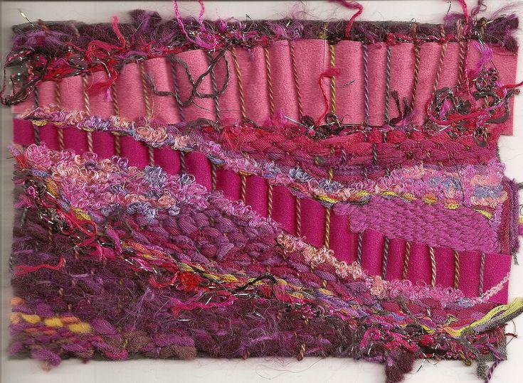 pin weaving by Shirley Adams