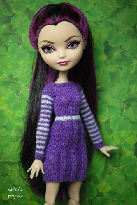 Ever After High Monster High Puppe Dress gestrickt dolls von toyZZ