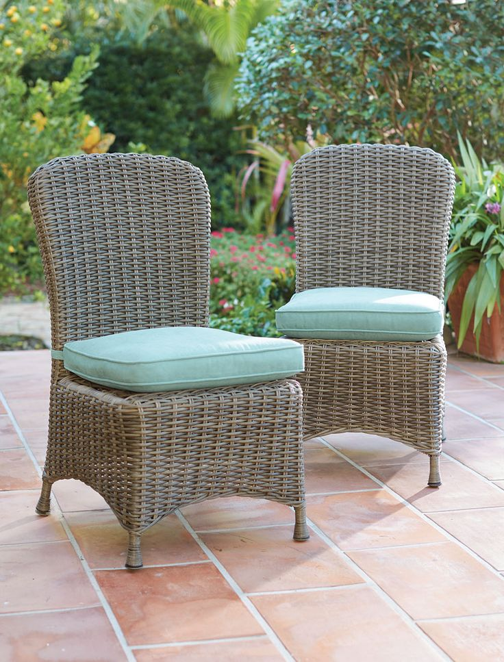 outdoor dining is much more comfortable with our martha stewart living dining chairs timeless - Martha Stewart Outdoor Furniture