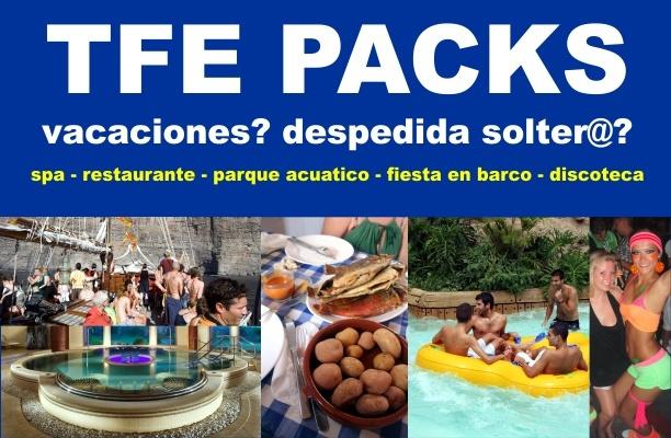 Organiza tus vacaciones o fiesta en Tenerife