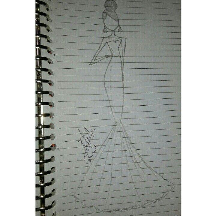 Sketch, long dress