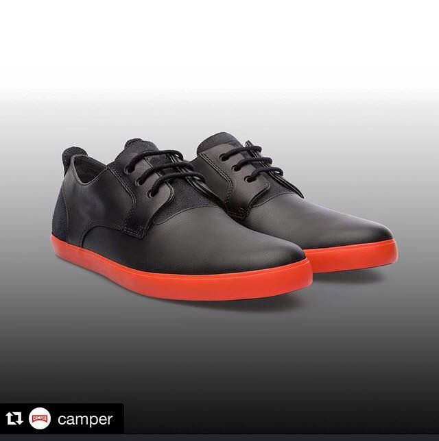 #Repost @camper with @repostapp. ・・・ Contrasting colors for a sharp look #Camper #CamperShoes#siderstore