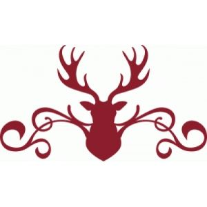 Silhouette Design Store - Search Designs : Winter deer