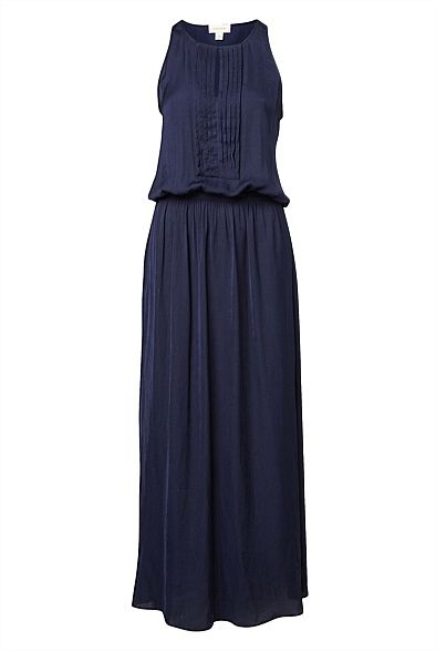Pleat front maxi Dress #witcherychristmaswishlist