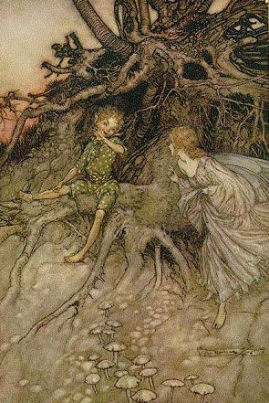 Arthur Rackham, Midsummer Night's Dream