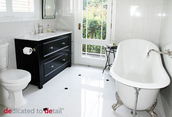bespoke bathrooms   modern classic