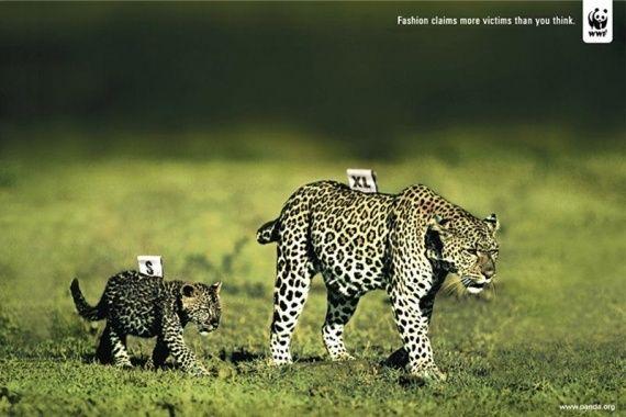 Plus de 50 Affiches chocs pour l'environnement avec WWF!