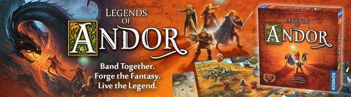 """Thames & Kosmos """"Legends of Andor"""" Contest!"""