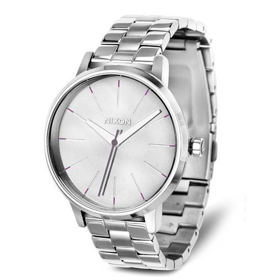 Zegarek NIXON, 599 PLN www.YES.pl/48815-zegarek-nixon-TC31152-S0S00-000000-000 #jewellery #Watches #BizuteriaYES #watch #silver #elegant #classy #style #buy #Poland