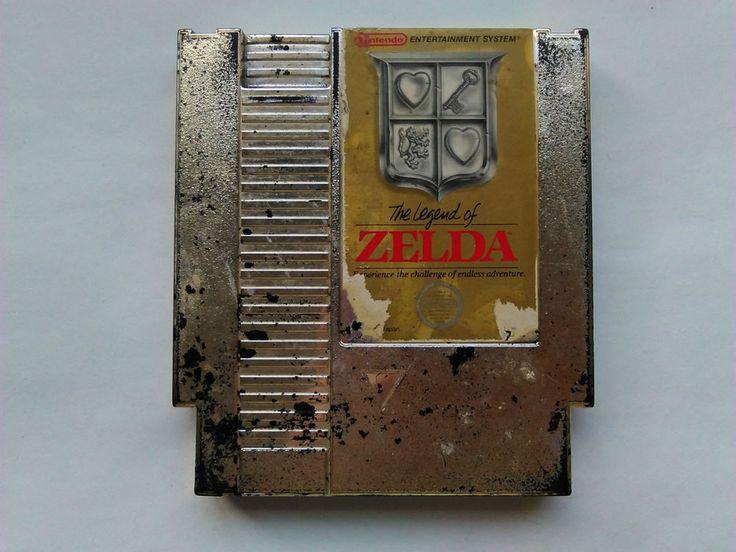Legend of Zelda for Nintendo NES Game Cart, Tested, NTSC USA, Acceptable