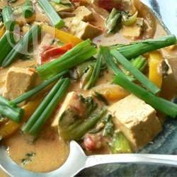 Tofu and Vegetable Coconut Curry @ allrecipes.com.au