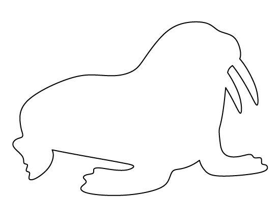 Картинки северных животных для детей распечатать цветные для вырезания