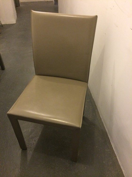 Crate and Barrel Leather Chairs  — for sale in Brooklyn!