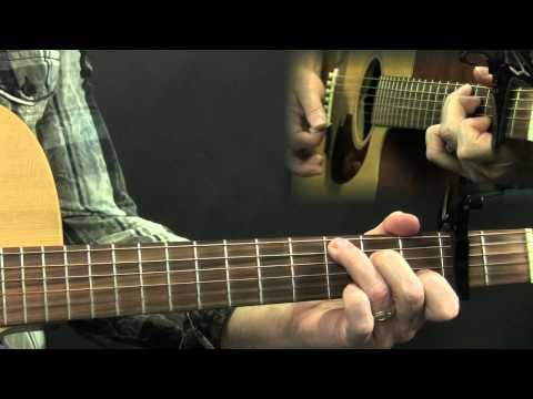 ▶ How To Play Wagon Wheel Acoustic Guitar Lesson Darius Rucker Old Crow Medicine Show - YouTube