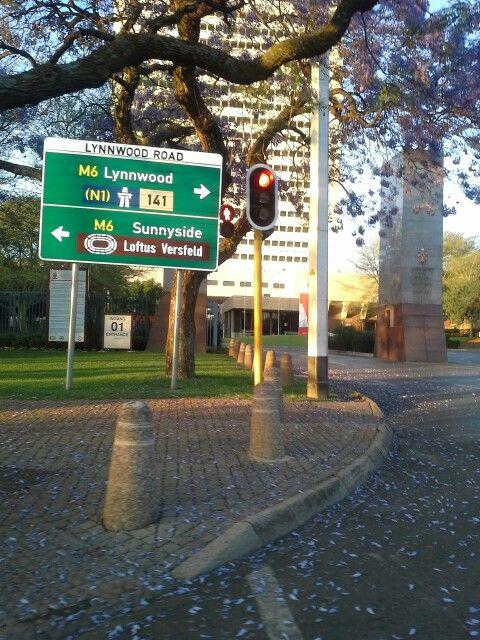 # Pretoria entrance to my Alma Mater yeah Tuks