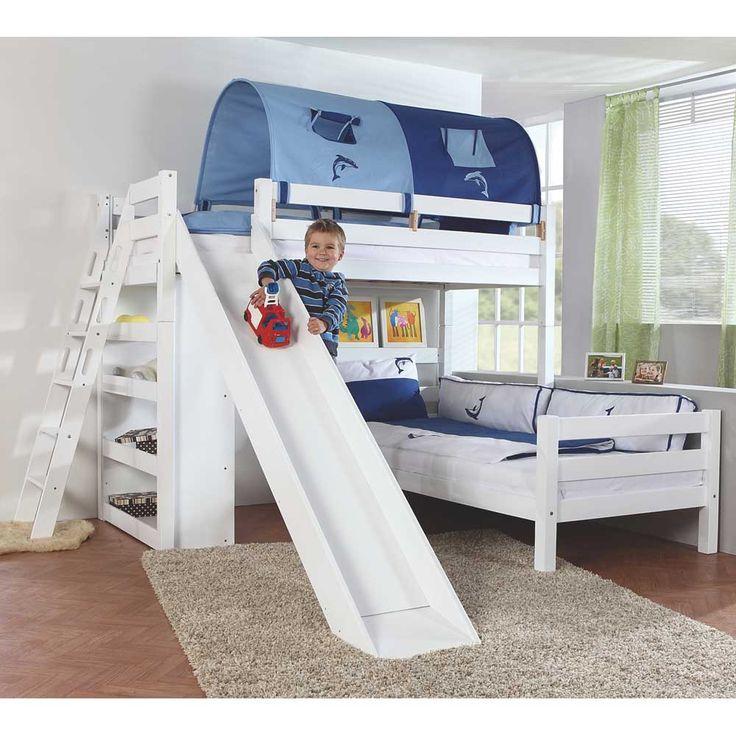 Kinderhochbett mit rutsche ikea  Die besten 25+ Kinderhochbett mit rutsche Ideen auf Pinterest ...
