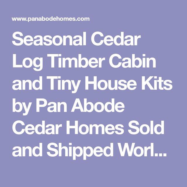Flooring For Seasonal Homes: Best 25+ Cedar Homes Ideas On Pinterest