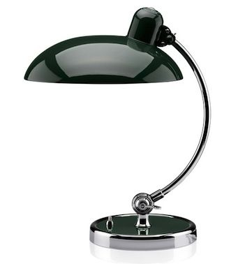 KAISER idell table light - (1936) Designed by Christian Dell for Fritz Hansen, this original Bauhaus design is still valid and fresh nearly 80 years later...K