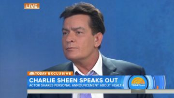 "Charlie Sheen on NBC Today Show: Talks Being Extorted Out Of ""Upwards Of $10 Million"" To Keep His HIV Status A Secret ""I Release Myself From This Prison Today"" (Video)"