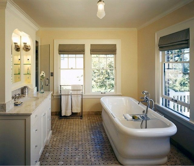 Simple yet beautiful bathroom idea!  <3