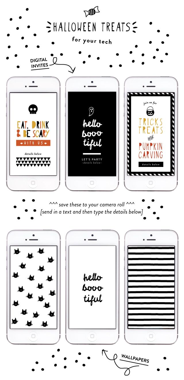 happy monday friends! to start the week off right, i have some cute (with a touch of spooky) halloween designs to share with you! 3 digital invites that make planning a halloween party or casual get together super easy + extra fun. just save the files and then attach to your email or text message. i also …
