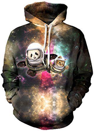 TDOLAH Herren Slim Fit Kapuzenpullover 3D Druck Sweatshirt Pullover (Größe L / XL, farbiges Auge): Amazon.de: Bekleidung