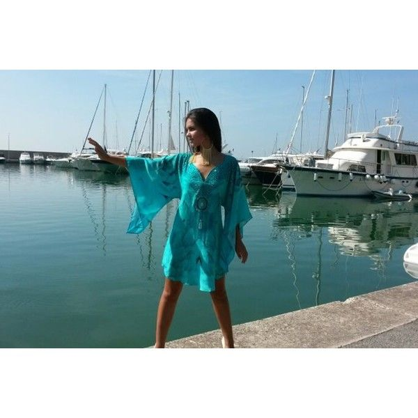 turquoise top, turquoise short dress, turquoise tunic, turquoise shirt ❤ liked on Polyvore featuring tops, tunics, shirt top, blue top, blue tunic, turquoise tunic and blue shirt