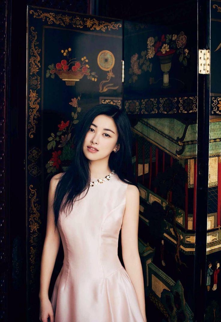 Duchess Dior: Zhu Zhu by Alexvi Li for Vogue China April 2015