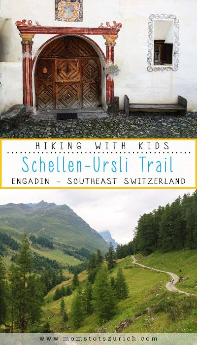 A fun themed hiking trail for families centered around a classic Swiss children's book, Schellen-Ursli, set in the town of Guarda, where this hike is located. This theme trail has interactive play stations related to each page of the book, which are displayed on a signboards along the trail in German and English. Southeastern Switzerland.