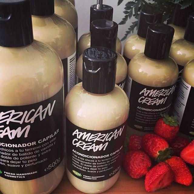 American Cream - my favorite Lush conditioner #lush #conditioner #hair