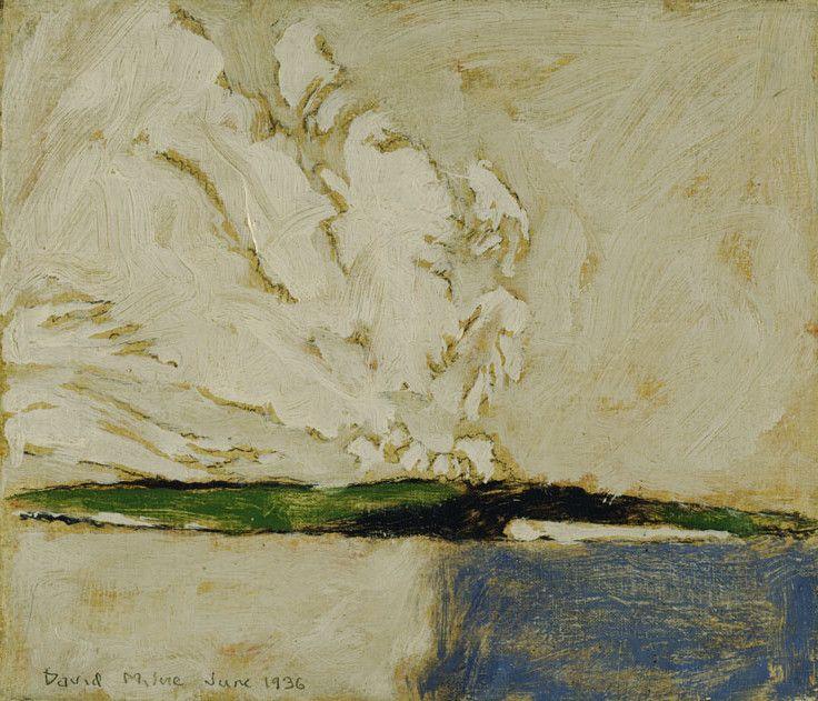 David Milne (1882 - 1953), Summer Colours, 1936, oil over graphite on canvas, 31 x 36.5 cm, Purchase 1993, 1993.4.2