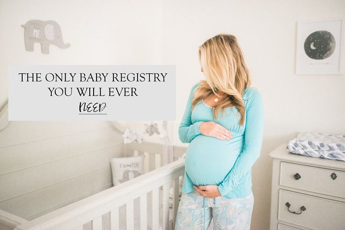 The only Baby Registry List you will ever need from a mother of 2 + a Free Printable Checklist! - Sparkling Footsteps