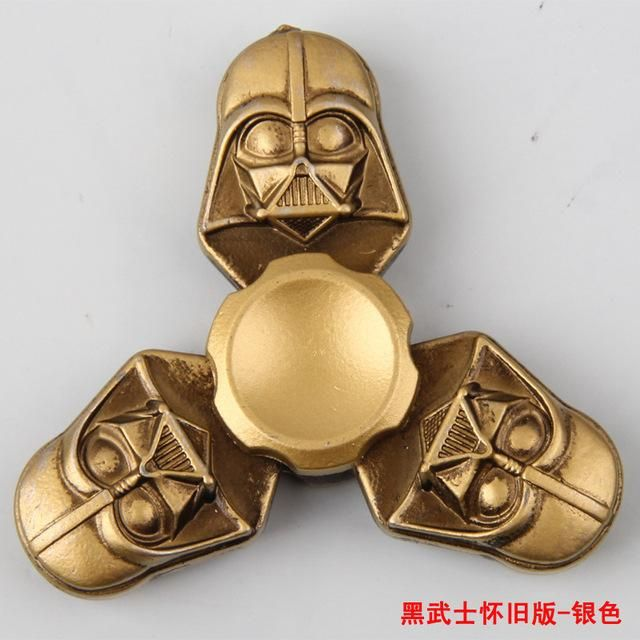 fidget spinner Star War Darth Vader & Pirates of the Caribbean Vintage Style Fidget Toys Hand Spinner Metal Finger Stress Relief