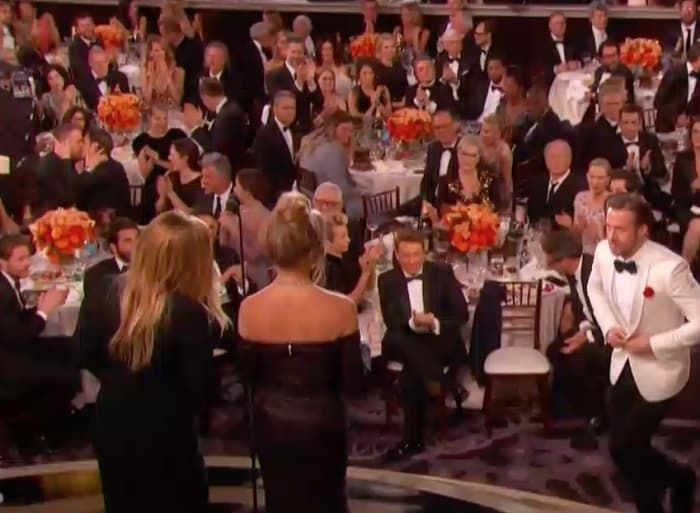 While Ryan Gosling Was Winning, Ryan Reynolds And Andrew Garfield Were Kissing, So There's That