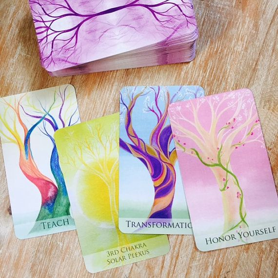 Soul Trees Oracle Cards by SoulTreesArt on Etsy. My affiliate link: http://tidd.ly/9b8d1d49
