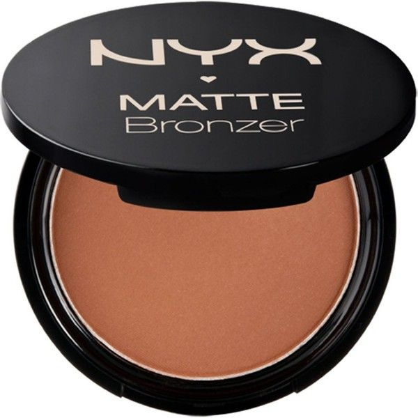 NYX COSMETICS Matte body bronzer found on Polyvore featuring beauty products, makeup, cheek makeup, cheek bronzer, dark tan and nyx