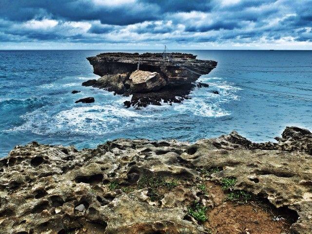 Timang Island - most dangerous island in Gunung Kidul, Central Java, Indonesia