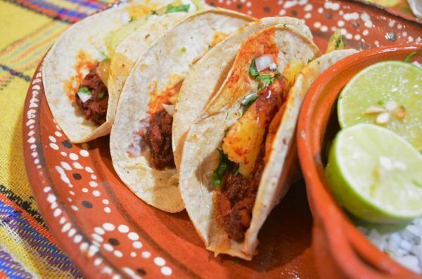 Receita de Tacos al pastor mexicanos