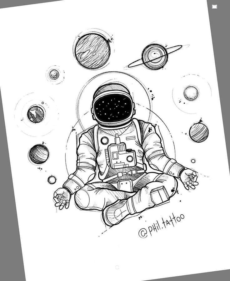 Zeichnung des brasilianischen Künstlers Felipe (p…