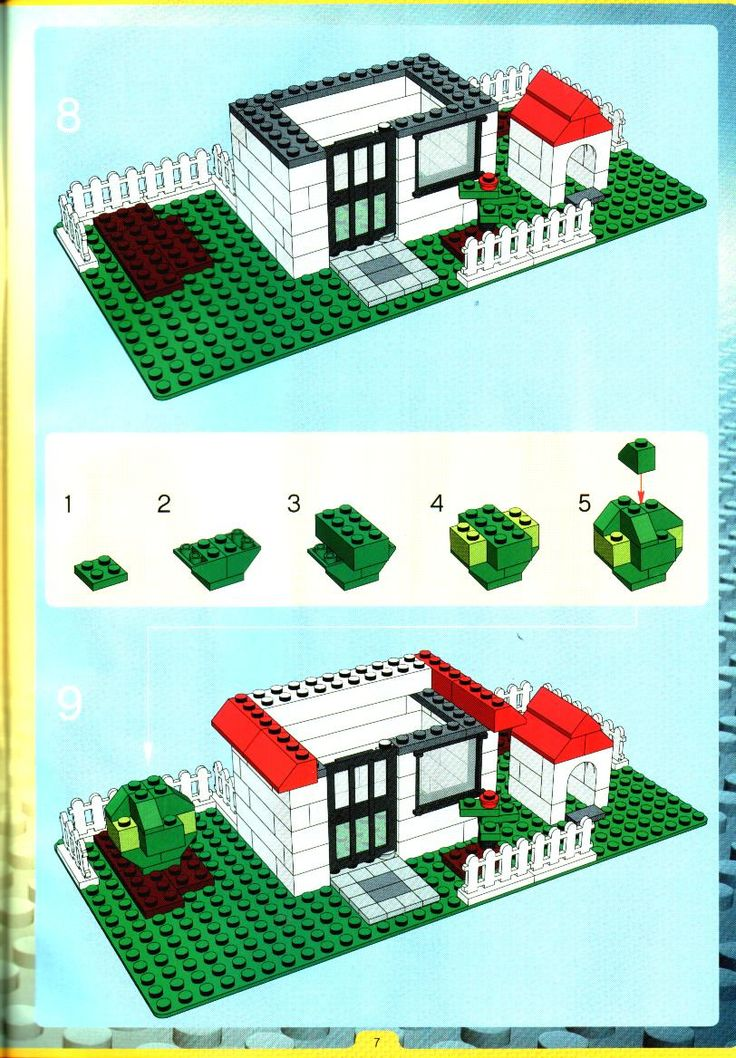 Old LEGO® Instructions | letsbuilditagain.com | Legos | Pinterest ...