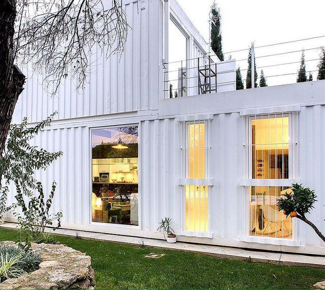 Mejores 1431 im genes de arquitectura con contenedores en - Arquitectura contenedores maritimos ...