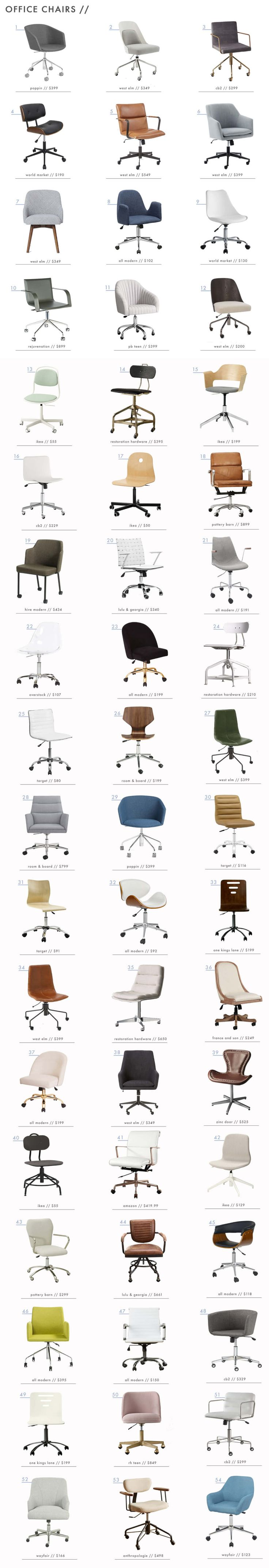 30 best Modern fice Chairs images on Pinterest