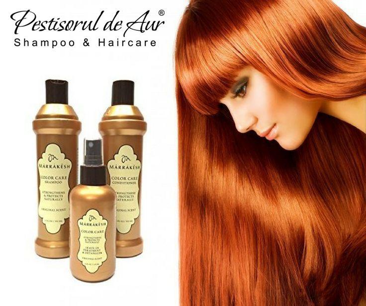 Protejează-ţi în mod natural culoarea părului vopsit şi hrăneşte-l în acelaşi timp! Linia Marrakesh Color Care, îmbogăţită cu ulei din seminţe de cânepă şi ulei de argan, conferă rezistență, protecție şi catifelare pentru mai mult timp.