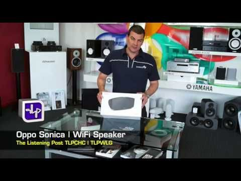 OPPO  Sonica Wifi Network Speaker Unboxing | The Listening Post | TLPCHC...