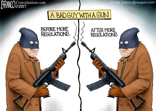 Image result for good guy with gun conservative cartoon