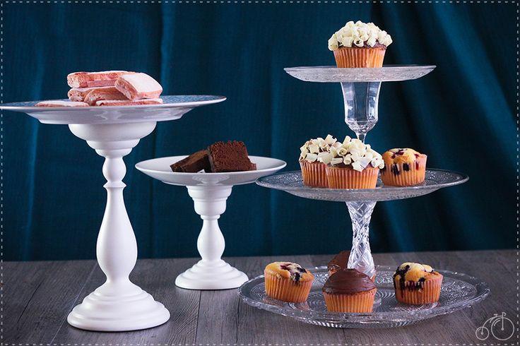 DIY pour fabriquer ses propres présentoirs à gâteau, un ou plusieurs étages