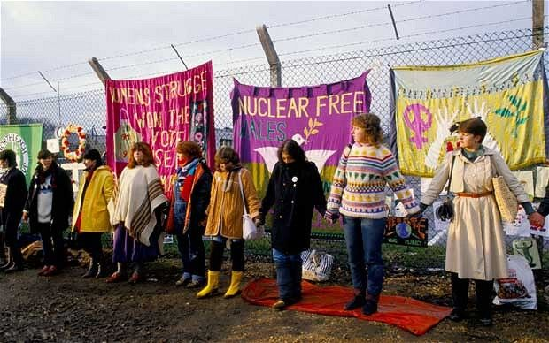 greenham common peace protesters