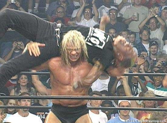 Favorite wrestler growing up: Lex Luger. Signature move ...