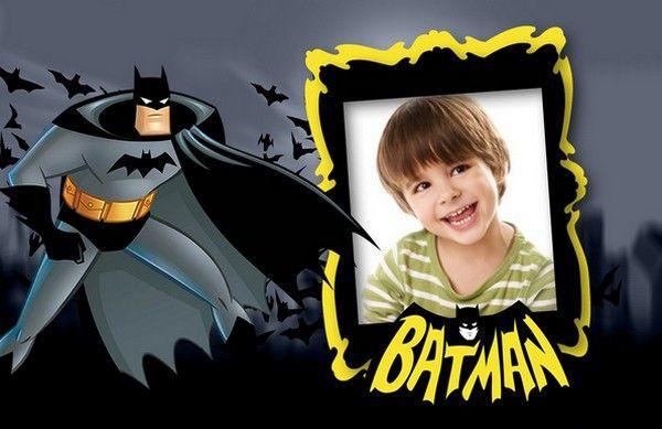 Este excelente marco para fotos de Batman infantil te permitirá decorar tus fotos preferidas de manera sencilla y divertida.